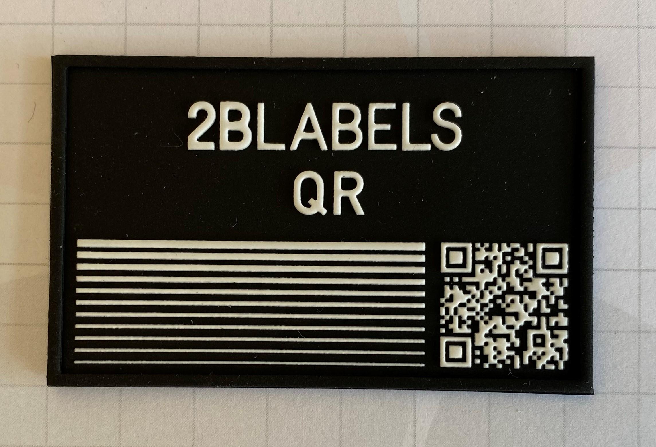 2B Labels QR